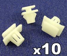 10 x HONDA CRV Molduras de plástico CLIPS PARA Protector Puerta Inferior rayas