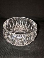 "Gorham Althea Pattern  4.25"" Across Full Lead Crystal Bowl, West Germany"