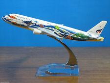 Bangkok Air AIRBUS A320 Passenger Airplane Plane Aircraft Metal Diecast Model