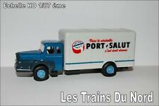 Camion Unic ZU 122 Marquage Le Port Salut HO 1/87 éme BREKINA SAI 2953