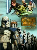 Star Wars The Clone Wars Seasons 1-5 Collectors Edition 19 DVD Box Set New USA