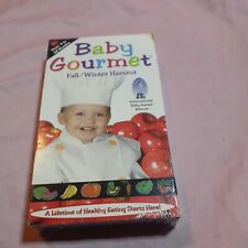 BABY GOURMET * VHS * FOOD FOR LITTLE THOUGHTS * RARE *  FALL WINTER HARVEST *