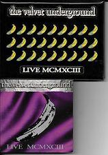 CD ALBUM 10 TITRES POCHETTE COLLECTOR--THE VELVET UNDERGROUND--LIVE MCMXCIII
