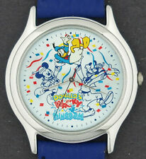 Mickey Mouse Character Watch w/ Donald Duck & Goofy Tokyo Disneyland Disney