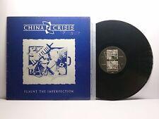 CHINA CRISIS FLAUNT THE IMPERFECTION VIRGIN V 2342 OTTIMO