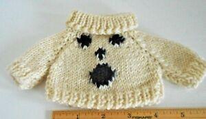Boyds Teddy Bear BOO Turtleneck Knit Sweater for Small Teddy Bear