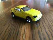 1998 Hot Wheels first editions  Mercedes SLK 1:64 Used pearl yellow India
