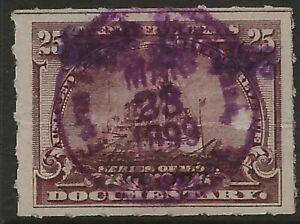 R 169--10 CENT BATTLESHIP  DOCUMENTARY STAMP-73