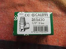 "CALEFFI 1/2"" 3 BAR SAFETY PRESSURE RELIEF VALVE"