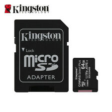 Kingston 64GB Micro SD SDXC Class 10 Memory Card TF with Adapter SDCS2/64GB