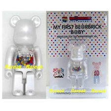 Medicom Be@rbrick My First Baby 100% 15th Anniversary Pearl White Bearbrick 1pc