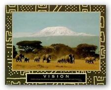 AFRICAN AMERICAN ART PRINT Vision Mt Kilimanjaro Motivational