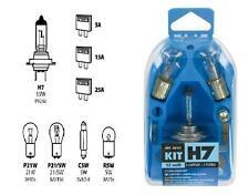 KIT / TRUS LAMPADA LAMPADINA DI RICAMBIO 8PZ ALOGENA H7 12 V 58157