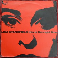 "Lisa Stansfield – This Is The Right Time 7"" – 112 512 matrix A1/B1 – Ex"