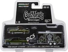 GREENLIGHT 2015 FORD F-150 1968 SHELBY GT500KR GAS MONKEY GARAGE 1/64  31010 A