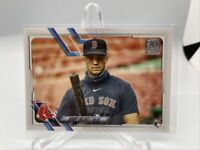 2021 Topps Series 1 Bobby Dalbec RC #26 SP Photo Variation Red Sox