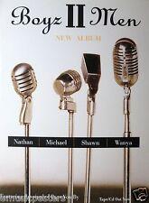 "BOYS II MEN ""NATHAN, MICHAEL, SHAWN, WANYA - PASS YOU BY"" THAILAND PROMO POSTER"