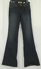 J Brand Jeans NEW Size 25 Babe Low-Rise Bellbottom Flare Jeans in Classic Wash