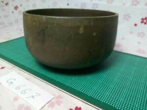 """3.543"""" Japanese Vintage Buddhist Bell Gong Rin G667 Traditional Tone"""