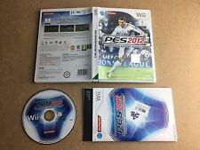 Pro Evolution Soccer 2012-Nintendo Wii (probado/trabajo) UK PAL