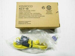 Kenwood KCT-18 Ignition Sense Cable NEW NIB OEM FACTORY