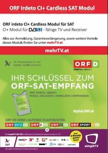ORF Karte (Modul) bis 08.2026 FREIGESCHALTET!!! GRATIS: 6 MONATE SIMPLY TV HD!!!