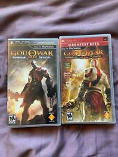 God of War: Ghost of Sparta and God of War: Chains of Olympus (PSP)