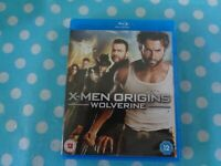X-Men Origins - Wolverine Blu-ray (2009) Hugh Jackman, Hood, cert 12,free p+p