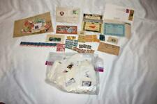 Large Assortment of mostly US and some Foreign Uncancelled and Cancelled Stamps