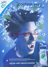 Head And Shoulders Coolest Way To Get Rid Of Dandruff 2003 Magazine Advert #1660