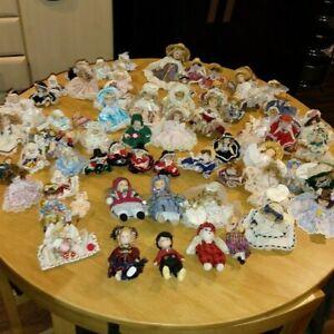 Leonardo Collection Porcelain Dolls - Bulk Lot of 66 Dolls