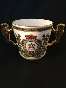 Prince Andrew Sarah Ferguson Married Westminster Abbey Paragon China Lion Handel
