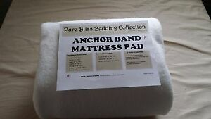 ❤️❤️Anchor Band Mattress Pad Waterbed / Conventional & Custom all sizes 🇺🇸🛏💕