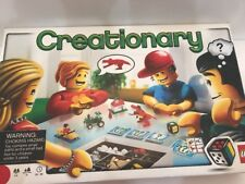 LEGO CREATIONARY Board Game 3844 Complete Except For Directions