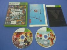 Grand Theft Auto V Five XBOX 360 Tested Working Complete w Manual + Map