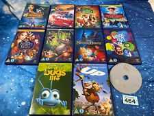 Disney/ Pixar/ Dreamworks 11 DVD Bundle Job Lot