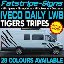IVECO DAILY LWB TIGER STRIPES GRAPHICS STICKERS MOTORHOME CONVERSION CAMPER VAN