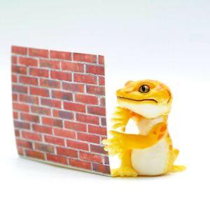 Blind Box Toy WHT YLW Leopard Gecko Lizard Figure 1 Random Mini Figure