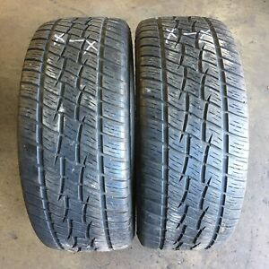 285/60R18 - 2 used tyres COOPER DISCOVERER H/T PLUS : $140.00