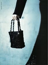 CHANEL luXuriouS BLACK ASTRAKHAN Persian Lamb fur Handbag PURSE hard 2 find RARE