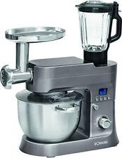Robot cocina batidora amasadora picadora carne vaso accesorios pasta Bomann