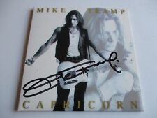 Mike Tramp Capricorn CD Promo Only Advance CD Signed 1998 WHITE LION CMC Records