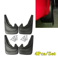 4Pcs Universal Car Front Rear Fenders Mud Flaps ABS Soft Plastic Splash Guards