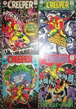 Beware the Creeper 1, 2, 3, 4 High-Grade 1968 DC Comics Ditko Cover & Stories NM