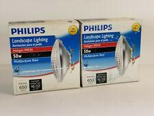 Pair 50 Watt 12-Volt Halogen PAR36 Landscape Lighting Multi-Purpose Flood Light