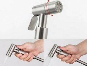 Salon Backwash Shower Head Solid Stainless Steel 2 Spray Types high quality