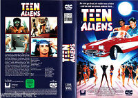 VHS -- Teen ALIENS ( They Came from Outer Space ) -- (1990) Stuart Fratkin - CIC