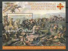 039.Vaticano.2012.Foglietto 1700° anniversario battaglia Ponte Milvio.Condit MNH
