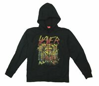 Slayer Seasons Of The Abyss Black Zip Hoodie Sweatshirt New Official Band Merch