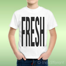 camiseta Niño niño Deletreado Negro Fresco Fresco Idea De Regalo